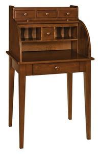 Amish Shaker Secretary Roll-Top Desk