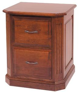 Amish Buckingham Filing Cabinet Choose from Two, Three or Four Drawers