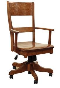 Amish Jamestown Desk Chair