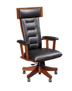 Amish London Desk Chair