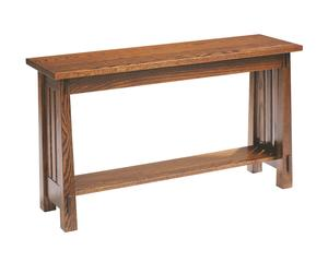 Amish Countryside Mission Sofa Table