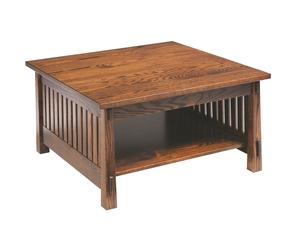 Amish Countryside Mission Square Coffee Table