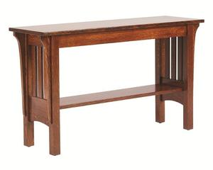 Amish Mission Deluxe Sofa Table