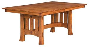 Amish Olde Century Mission Trestle Table