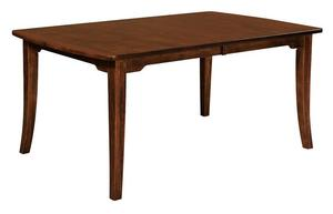 Amish Broadway Dining Room Leg Table