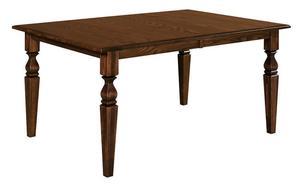 Amish Vera Leg Dining Table