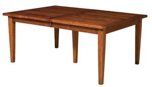 Amish Sacramento Mission Plank Top Leg Table