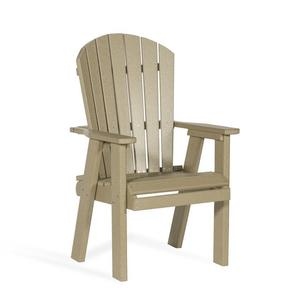 Amish Leisure Lawns Bistro Poly Dining Chair