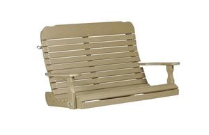 Amish Leisure Lawns Recycled Poly Easy Porch Swing