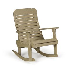 Amish Leisure Lawns Single Poly Easy Rocker Chair