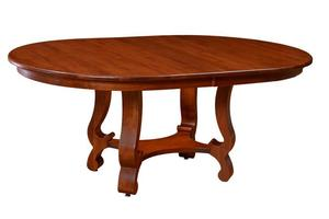 Amish Arlington French Country Pedestal Table