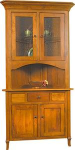 Amish Jacob Martin Corner Hutch