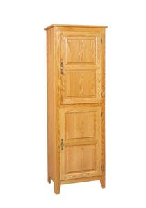 Amish Tall Standing Kitchen Pantry Cupboard