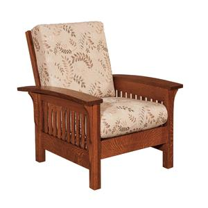 Amish Empire Mission Lounge Chair