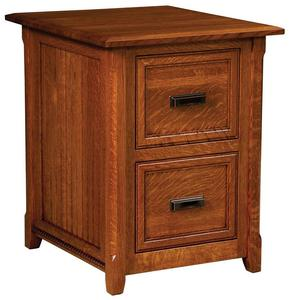Amish Ashton Two Drawer File Cabinet
