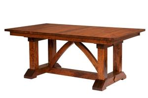 Amish Bostonian Trestle Table