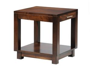 Amish Urban End Table with Drawer