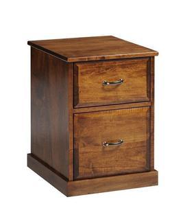 Amish Arlington Rolling File Cabinet
