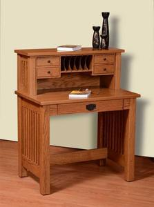 Amish Holmes Mission Deluxe Writing Desk