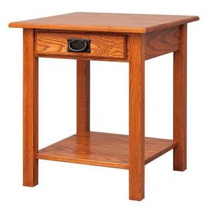 Amish Open Mission End Table