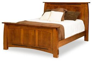 Amish Colebrook Panel Bed