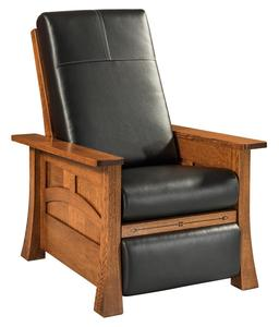 Amish Brady Recliner with Inlays