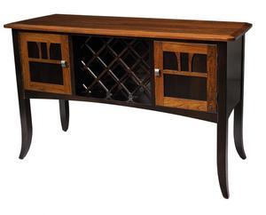 Amish Christy Wine Server