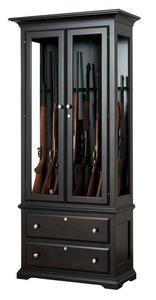 American Alps Solid Wood 8 Gun Cabinet