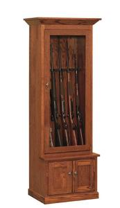 Amish Mission Gun Cabinet