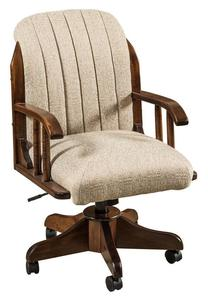 Amish Delray Upholstered Desk Chair