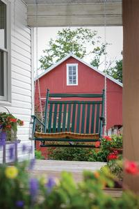 Amish Ash Wood Olde Squire Porch Swing