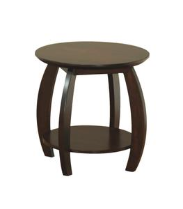 Amish Sierra End Table with Shelf