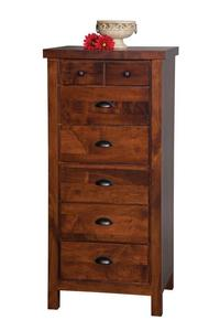 Amish Times Square 7-Drawer Lingerie Chest