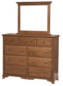 Berkshire Tall Dresser with Optional Mirror