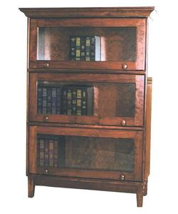 Amish Shaker Barrister Solid Wood Bookcase