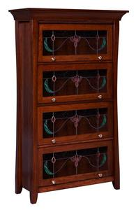 Amish Berkley Barrister Bookcase