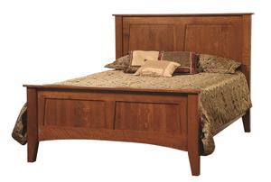 Amish Heirloom Mission Bed