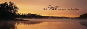 Be Still Inspirational Print - Made in USA