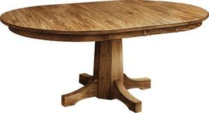 Amish Pinnacle Single Pedestal Table