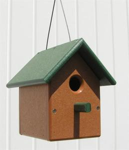 Amish Poly Wren Bird House