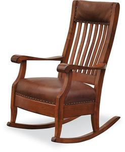 Amish Maybury Upholstered Rocking Chair