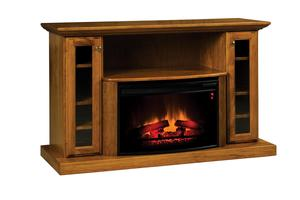 """Amish Elizabethtown Classic 54"""" Electric Fireplace TV Stand"""