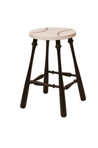 Amish Painted Baseball Barstool