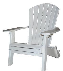 Amish Seaside 22 Inch Poly Composite Folding Adirondack Chair