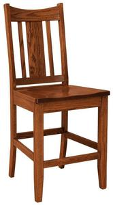 Amish Kodiak Mission Bar Stool
