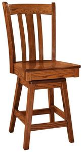 Amish Meridan Stool with Swivel