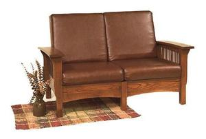 Amish Mission Morris Loveseat