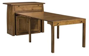 Boulder Creek Kitchen Island with Extending Table