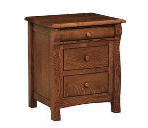 Amish Kids Castlebury Three Drawer Nightstand