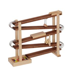 American Made Wooden Toy Marble Flyer